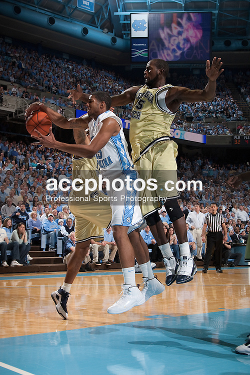 16 January 2010: North Carolina Tar Heels  guard Leslie McDonald (15) during a 71-73 loss to the Georgia Tech Ramblin Wreck at the Dean E. Smith Center in Chapel Hill, NC.