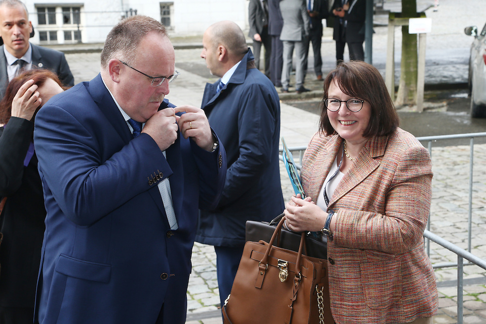 20160615 - Brussels , Belgium - 2016 June 15th - European Development Days - Bilateral Meeting <br /> Romain Schneider<br /> Minister for Development Cooperation and Humanitarian Affairs Ministry of Foreign Affairs - Luxembourg<br /> © European Union