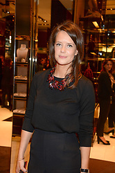 ARABELLA MUSGRAVE at a party hosted by Gucci & Clara Paget to drink a new cocktail 'I Bamboo You' held at Gucci, 34 Old Bond Street, London on 16th October 2013.