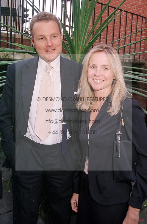 VISCOUNT &amp; VISCOUNTESS ROTHERMERE  at a <br /> party in London on 1st June 2000.OEX 44<br /> &copy; Desmond O&rsquo;Neill Features:- 020 8971 9600<br />    10 Victoria Mews, London.  SW18 3PY <br /> www.donfeatures.com   photos@donfeatures.com<br /> MINIMUM REPRODUCTION FEE AS AGREED.<br /> PHOTOGRAPH BY DOMINIC O'NEILL