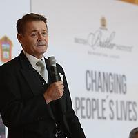 """Toluca, México (Agosto 04, 2016).- Gary Williams, Mayordomo Británico, durante su conferencia Magistral de """"Cambiando la vida de las personas"""" Servicios y Hospitalidad. Agencia MVT / Arturo Hernández."""