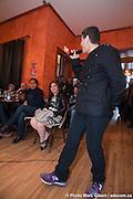 """Jean-Jacques Revel, auteur-compositeur-interprète pop-jazz, """"A part ça, j'vais bien"""",  -  Bistrot de l' Union Française / Montreal / Canada / 2011-04-07, Marc Gibert/ adecom.ca"""