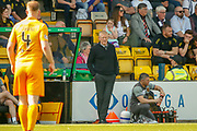 Livingston FC Manager Gary Holt during the Ladbrokes Scottish Premiership match between Livingston and St Mirren at Tony Macaroni Arena, Livingstone, Scotland on 20 April 2019.