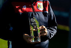 Bristol City Women's Manager Tanya Oxtoby as she receives LMA Managers Manager of the Month for September 2018 - Ryan Hiscott/JMP - 04/10/2018 - FOOTBALL - Stoke Gifford Stadium - Bristol, England - Tanya Oxtoby receives Managers Manager of the Month for September 2018