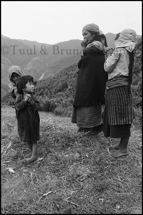 Nepal. Vallée de l'Arun. Sherpa. // Nepal. Arun Valley. Sherpa.