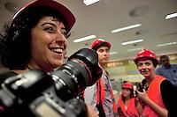 6 Ottobre 2011 .Visita presso centrale Enel di Cerano, Brindisi..Apulia Audiovisual Workshop Puglia Experience.Apulia Film Commission