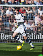 Dundee&rsquo;s Daniel Higgins - Hearts v Dundee in the Ladbrokes Scottish Premiership at Tynecastle, Edinburgh, Photo: David Young<br /> <br />  - &copy; David Young - www.davidyoungphoto.co.uk - email: davidyoungphoto@gmail.com