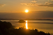 Sunset over Pulau Tujubelas, near Riung, Flores, Indonesia.