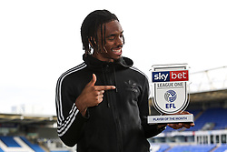 Ivan Toney of Peterborough United wins the Sky Bet League One Player of the Month award for December 2020 - Mandatory by-line: Joe Dent/JMP - 04/02/2020 - FOOTBALL - Peterborough, England.