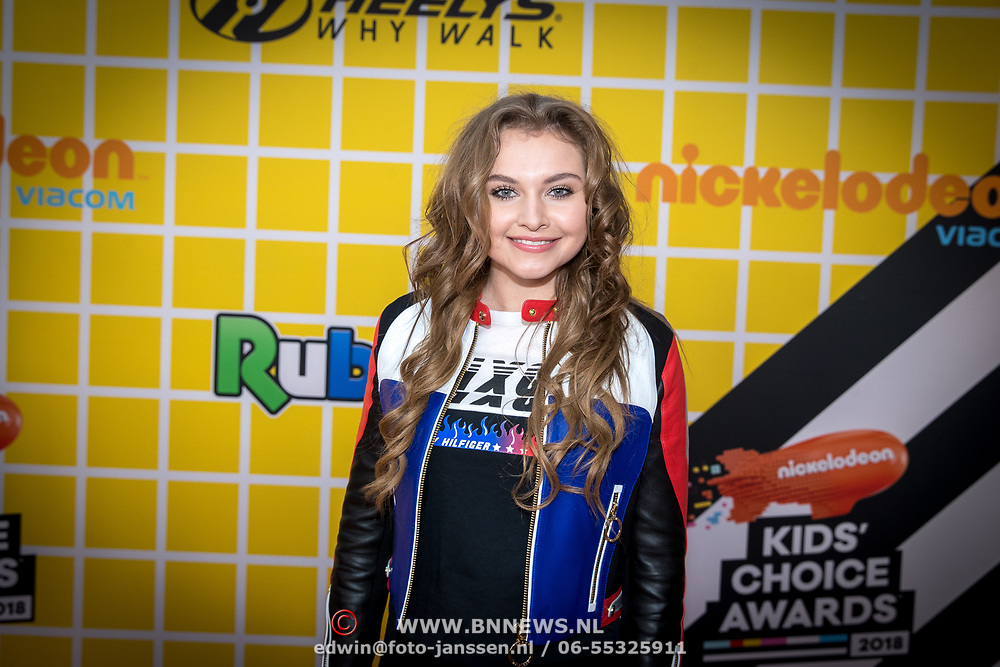 NLD/Amsterdam/20180325 - Nickelodeon Kid's Choice Awards 2018, Vajen van den Bosch