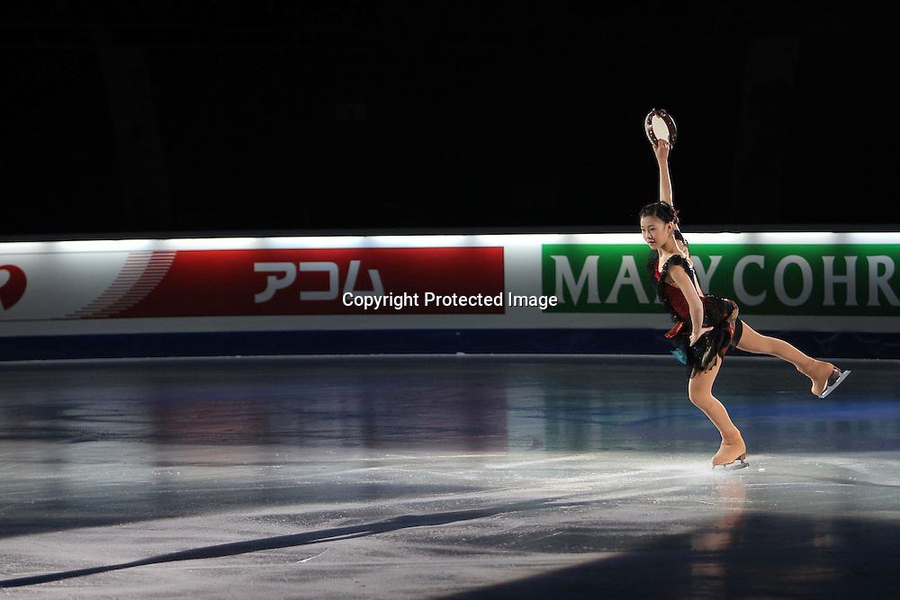 'ºã‰ÀØŽq/Kanako Murakami (JPN), DECEMBER 12, 2010 - Figure Skating : ISU Grand Prix of Figure Skating Final 2010/2011 Exhibition at Capital Indoor Stadium, Beijing, China. (Photo by Akihiro Sugimoto/AFLO SPORT) [1080]