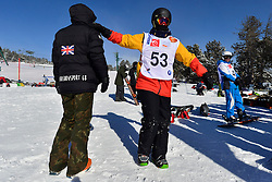 Behind the scenes, Snowboarder Cross, WARD Rich, GBR at the 2016 IPC Snowboard Europa Cup Finals and World Cup