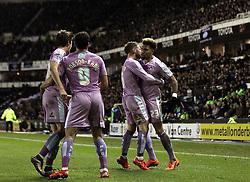 Daniel Williams of Reading celebrates scoring a goal against Derby County - Mandatory byline: Robbie Stephenson/JMP - 12/01/2016 - FOOTBALL - iPro Stadium - Derby, England - Derby County v Reading - Sky Bet Championship