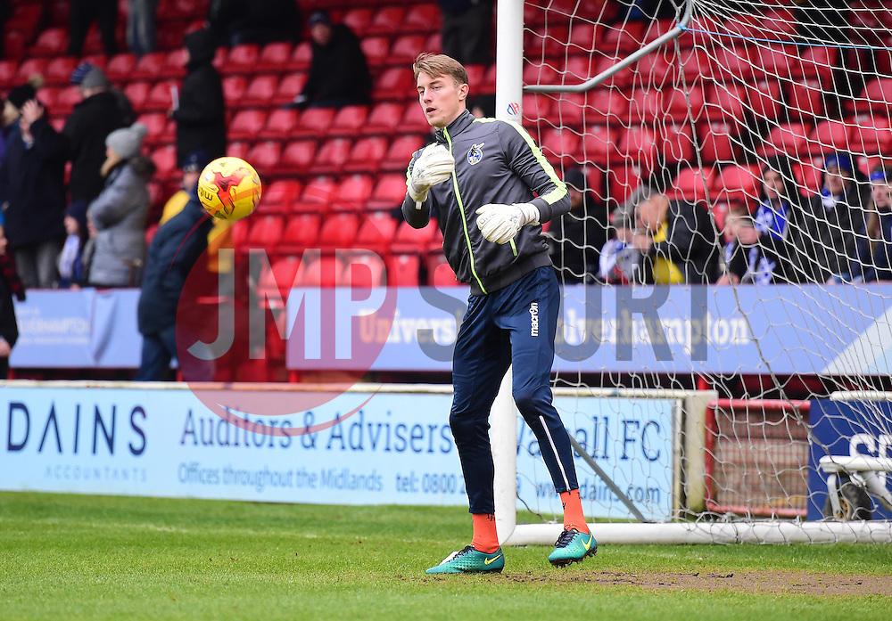 Bristol Rovers Joe Lumley - Mandatory by-line: Alex James/JMP - 21/01/2017 - FOOTBALL - Banks's Stadium - Walsall, England - Walsall v Bristol Rovers - Sky Bet League One