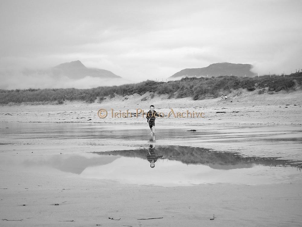 Renvyle Beach, Connemara, County Galway, Ireland