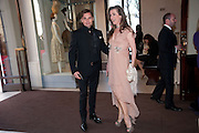 DANIEL GALVIN; SUSANNAH GALVIN, Olivier Awards 2012, Royal Opera House, Covent Garde. London.  15 April 2012.