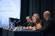 Becky Rogness, former communications director with Indiana Right to Life, speaks at a panel discussion during the Let's Talk Life, Marriage and Religious Liberty event on Wednesday, Sept. 9, 2015, in Washington, D.C. LCMS Communications/Erik M. Lunsford