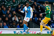Ryan Nyambe of Blackburn Rovers during the EFL Sky Bet Championship match between Blackburn Rovers and Preston North End at Ewood Park, Blackburn, England on 11 January 2020.