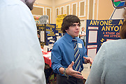 College of Education Undergrad Research Exhibition  in Baker Ballroom on Friday, March 9th. Provost Krendl,Dr. McDavis, and Dean Dr. Rene Middleton were there. There were about 45 trifold research presentations; the students worked in pairs...Joe Mastrantoni