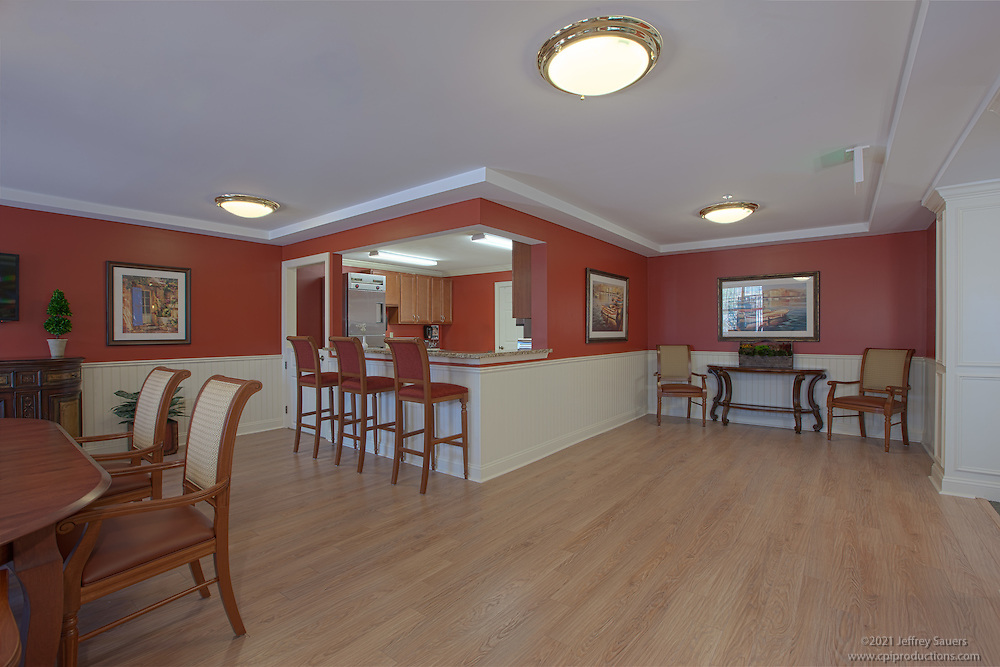 Architectural Interior image of Brightview Towson Continuing Dining Room