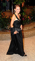Natalie Portman arrives for the White House Correspondents Dinner in Washington, DC