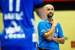 Zeljko Babic head coach of RK Gorenje Velenje during handball match between RK Gorenje Velenje and RK Celje Pivovarna Lasko in SEHA league, Round 1, on 30th of August , 2017 in Rdeca Dvorana, Velenje, Slovenia. Photo by Grega Valancic/ Sportida