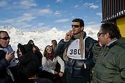 ALEXANDER OSTROWSKY; ANASTASIA GRAZIOLI; CASIMIR SAYN WITTGENSTEIN; JURY OSTROWSKY. Children and Adult ski race in aid of the Knights of Malta,  Furtschellas. St. Moritz, Switzerland. 23 January 2009 *** Local Caption *** -DO NOT ARCHIVE-© Copyright Photograph by Dafydd Jones. 248 Clapham Rd. London SW9 0PZ. Tel 0207 820 0771. www.dafjones.com.<br /> ALEXANDER OSTROWSKY; ANASTASIA GRAZIOLI; CASIMIR SAYN WITTGENSTEIN; JURY OSTROWSKY. Children and Adult ski race in aid of the Knights of Malta,  Furtschellas. St. Moritz, Switzerland. 23 January 2009