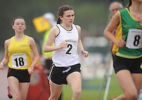 21 Aug 2016:   Girls U16 1500m final.  2016 Community Games National Festival 2016.  Athlone Institute of Technology, Athlone, Co. Westmeath. Picture: Caroline Quinn