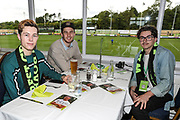 Australian FGR fans at The New Lawn, home of Forest Green Rovers during the EFL Sky Bet League 2 match between Forest Green Rovers and Port Vale at the New Lawn, Forest Green, United Kingdom on 8 September 2018.