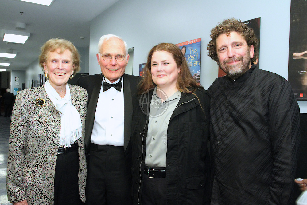 Backstage with Seattle Opera Production Sponsor for Fidelio, Ann P. Wyckoff, October 2012.