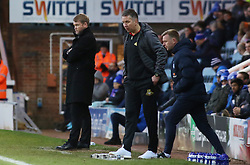 Peterborough United Manager Grant McCann watches on from the touchline alongside Doncaster Rovers manager Darren Ferguson - Mandatory by-line: Joe Dent/JMP - 01/01/2018 - FOOTBALL - ABAX Stadium - Peterborough, England - Peterborough United v Doncaster Rovers - Sky Bet League One