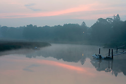 Dawn on the Lieutenant River in Old Lyme Connecticut USA