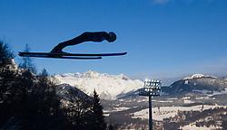 06.01.2015, Paul Ausserleitner Schanze, Bischofshofen, AUT, FIS Ski Sprung Weltcup, 63. Vierschanzentournee, Probedurchgang, im Bild Anssi Koivuranta (FIN) // Anssi Koivuranta of Finland during Trial Jump of 63rd Four Hills Tournament of FIS Ski Jumping World Cup at the Paul Ausserleitner Schanze, Bischofshofen, Austria on 2015/01/06. EXPA Pictures © 2015, PhotoCredit: EXPA/ JFK