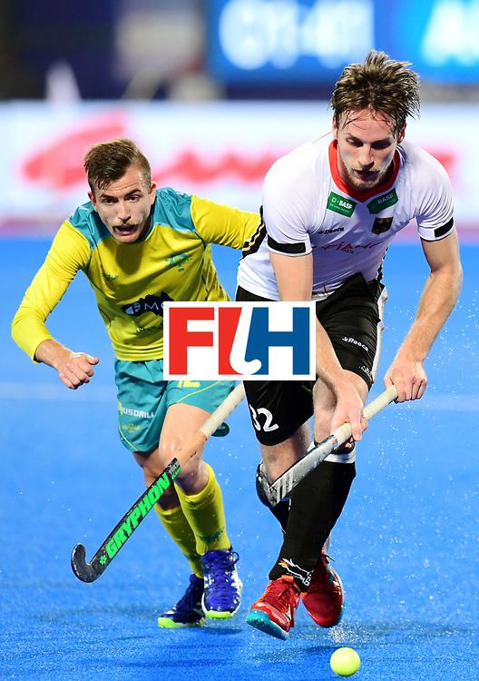 Odisha Men's Hockey World League Final Bhubaneswar 2017<br /> Match id:20<br /> Australia v Germany<br /> Foto: Niklas Bruns (Ger) and Jake Whetton (Aus) <br /> COPYRIGHT WORLDSPORTPICS FRANK UIJLENBROEK