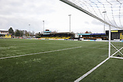 The CNG Stadium before the Vanarama National League match between FC Halifax Town and Dover Athletic at the Shay, Halifax, United Kingdom on 17 November 2018.