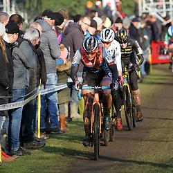 27-12-2019: Wielrennen: DVV veldrijden: Loenhout: Rebecca Fahringer