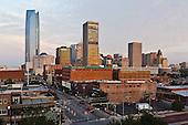 Oklahoma City Cityscape Skyline