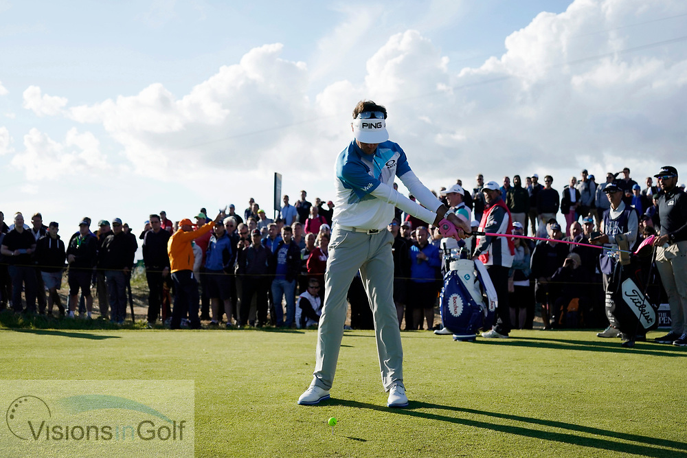 Bubba Watson<br /> High speed swing sequence<br /> Face on driver<br /> <br /> Golf Pictures Credit:  Mark Newcombe / www.visionsingolf.com