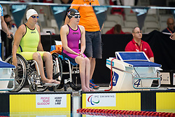 GABIDULLINA Zulfiya, TEUNISSEN Lisette KAZ, NED at 2015 IPC Swimming World Championships -  Women's 100m Freestyle S3