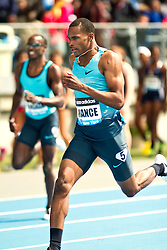 adidas Grand Prix professional track & field meet: mens 400 meters, Josh Mance