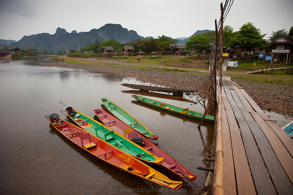 Vang Vieng, Laos. Nam Song River.