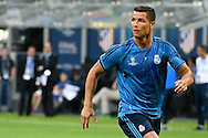 Cristiano Ronaldo of Real Madrid pictured during Real Madrid training prior to their UEFA Champions League Final match against Atl&eacute;tico Madrid. San Siro, Milan, Italy.<br /> Picture by Kristian Kane/Focus Images Ltd 07814482222<br /> 27/05/2016