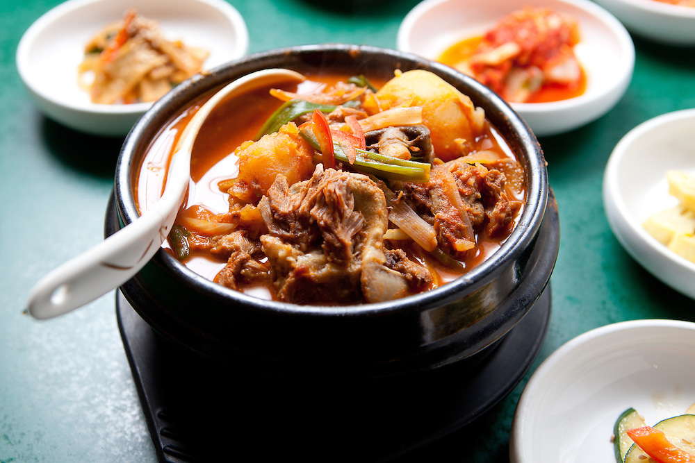 Korean pork neck soup at Korea House, in Creve Coeur, MO.