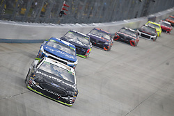 October 7, 2018 - Dover, Delaware, United States of America - Aric Almirola (10) battles for position during the Gander Outdoors 400 at Dover International Speedway in Dover, Delaware. (Credit Image: © Justin R. Noe Asp Inc/ASP via ZUMA Wire)