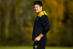 Charlie Matthews of Wasps during training ahead of the European Challenge Cup fixture against SU Agen - Mandatory by-line: Robbie Stephenson/JMP - 18/11/2019 - RUGBY - Broadstreet Rugby Football Club - Coventry , Warwickshire - Wasps Training Session