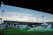 Craven Cottage, home of Fulham football club during the EFL Sky Bet Championship match between Queens Park Rangers and Newcastle United at the Loftus Road Stadium, London, England on 13 September 2016. Photo by Jarrod Moore.