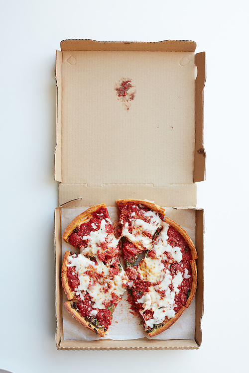 Deep Dish Mozzerella Pizza