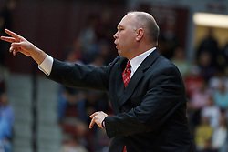 Jan 21, 2012; Santa Clara CA, USA;  St. Mary's Gaels head coach Randy Bennett on the sidelines against the Santa Clara Broncos during the first half at the Leavey Center.  St. Mary's defeated Santa Clara 93-77. Mandatory Credit: Jason O. Watson-US PRESSWIRE