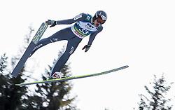 12.01.2014, Kulm, Bad Mitterndorf, AUT, FIS Ski Flug Weltcup, Erster Durchgang, im Bild Gregor Deschwanden (SUI) // Gregor Deschwanden (SUI) during the first round of FIS Ski Flying World Cup at the Kulm, Bad Mitterndorf, .Austria on 2014/01/12, EXPA Pictures © 2013, PhotoCredit: EXPA/ Erwin Scheriau