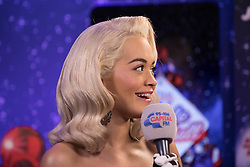 Rita Ora during day one of Capital's Jingle Bell Ball with Coca-Cola at London's O2 Arena.